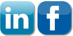 facebook si linkedin