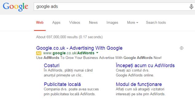 Cum concepi ad-urile text pentru o campanie Google Adwords pe search